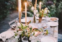 Beautiful Entertaining / I'm in love with dinner parties I haven't been to and garden parties I haven't hosted - everything you need for a perfect night with friends