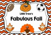 Fabulous Fall / Great Resources, Lessons, Freebies, and Activities for the Elementary Classroom