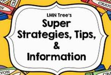 Super Strategies, Tips, and Information / This board is designed to give super strategies that work, teacher tips, and information that are important for teachers and educators.