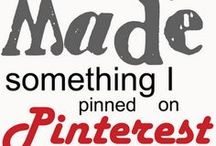 I can do it too! Pinterest Inspired Creations / by Precious Porras