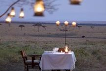 Romance in Africa / Africa was meant for the most romantic of vacations - honeymoons! From private islands to luxury safari lodges and remote desert camps, honeymooning in Africa is a walk on the wild side...Happy Valentines Day all you romantics! #valentinesday / by Go2Africa