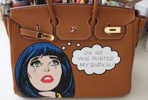 #JuCustomiza / Meu trabalho de customização de bolsas de luxo