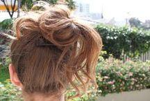 cabelo e maquiagem / idéias de penteados/cortes de cabelo e makes lindos
