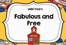Fabulous and Free / Free Resources,  Activities, and Lessons for Elementary Teachers
