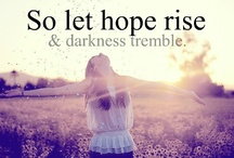 Hope / 'And hope does not disappoint...' - Romans 5:5