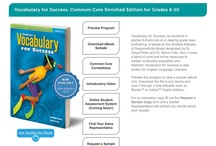 Sadlier School Products / Looking to sample a Sadlier School program? Sadlier School products include proven programs such as Vocabulary Workshop, Vocabulary for Success, Grammar Workshop, Grammar for Writing, and Progress in Mathematics. Sadlier just released Common Core Progress English Language Arts to address the Common Core State Standards in grades K-8. http://schoolstore.sadlier.com/ / by Sadlier School