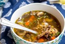 Soups On! / Soup and Chili recipes to get you through the winter season.