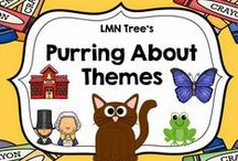 Themes for K-3 / Lessons, Freebies, and Resources for thematic units for teachers