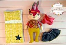 Plush & Art Dolls / I love seeing what plushies, art dolls and soft sculptures people can create from just bits of fabric! Be inspired by all the wonderful handmade crafty creators I have found out there making little people come to life :D / by A Life In The Making