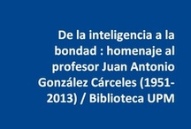 #GonzálezCárceles / #InMemoriam #GonzalezCarceles : homenaje a Juan Antonio González Cárceles (1951-2013), doctor-arquitecto, profesor de la ETSAM y promotor de una de las plataformas digitales con mayor proyección de @La_UPM, Colección Digital Politécnica [http://cdp.upm.es/] | @BiblioUPM