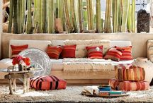 DECO | Bohemian / Houses, terraces and details inspired on the boho chic style. I love this ambiance!