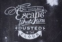Amazing Lettering / Some Amazing Lettering