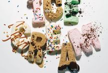 Ice Cream / This is a cool board, full of cream, frozen yoghurt and sorbets. Be inspired to make your own unique flavours for the summer.  / by Craft Candy