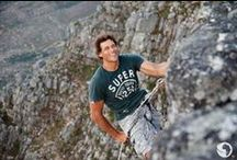 "#AfricanAdventure: Go Hiking / S1:E4 Go Mountaineering: our action man heads up Table Mountain (http://goo.gl/FTQONF) with Chris and Mark. This route is no stroll in the park - a hard hike, a few hairy scrambles, and one heart-stopping rappel over the edge... There's a reward for making such a tough ascent to the top of a world wonder: a spectacular view and a cushy cable car ride back to the bottom! Do it yourself on our ""Hikes & Bikes"" tour package: http://www.go2africa.com/tour/2972 / by Go2Africa"
