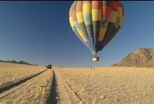 Hot-air Ballooning  in Africa / A safari from the air is a whole new experience that we highly recommend you tick off your bucket list. Here are a few of our favourite photos to inspire you... / by Go2Africa