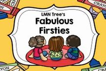 Fabulous Firsties / Resources, Lessons, and Activities for First Grade