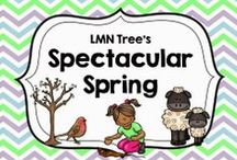 Spectacular Spring / Resources, Activities, Lessons, and Ideas about Spring for Teachers and Parents