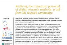 #RightToReadRightToMine / 'The right to read is the right to mine' : investigadores y bibliotecarios por una excepción europea para los métodos digitales de investigación -TDM, text & data mining- en la legislación de propiedad intelectual | @biblioupm