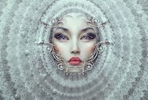 ART| Natalie Shau / Natalie Shau is mixed media artist and photographer based in Lithuania (Vilnius). She found interest in fashion and portrait photography as well as digital illustration and photo art.  Despite her personal work, Natalie also creates artwork and photography for musicians, theater, fashion magazines, writers and advertisement.