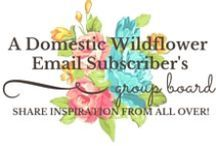Wildflower Subscriber's Board / This is a group board just for subscribers to share favorite pins with other Wildflowers. Share sewing, canning, DIY, crafts, yarn, rural & country living, mountains, valleys, cooking, drinking, mending, handmade, homemade, making do, and doing well. To be added as a contributor, 1)Follow this board 2)Follow A Domestic Wildflower 3)Subscribe at www.thedomesticwildflower.com/subscribe and I will invite you to contribute. No more than 10 pins a day & no spam. Happy pinning, Wildflowers!