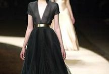 {Sartorial} Frocks / Show stopping dresses and gowns
