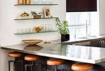 Yummy Kitchens / modern, country, minimalist, contemporary, luxe, glamorous, Hollywood Regency, chef's, eat-in, outdoor - any kind of kitchen we're hungering for!