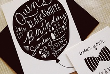 Events - Invites + Print / by Lindsay Rumple