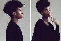 Edgy Natural Hair Styles