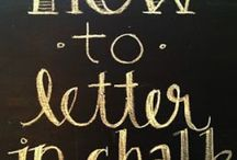 Chalkboard / by Cathy Shrader Krupa