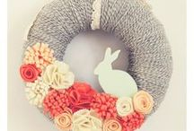 Holidays | Easter / Easter recipes, Easter wreaths and decor, all things Easter!