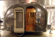Trailers, Caravans, and Converted Buses...Dreams... / Can you tell what I want to do?  I'd love to have an old bus or travel trailer to convert to a cushy, comfy space. / by Deb Kauzlarich