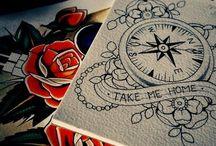 Tattoos <3 / by Megan Tucker