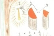 4: Fractions / Class 4 Fraction ideas. / by Waldorf Hannah
