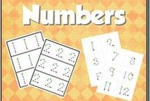 Numbers / All things numbers + teaching those kiddos how to count!