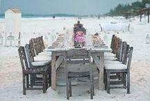 Outdoor dining / Interesting dining ideas :)