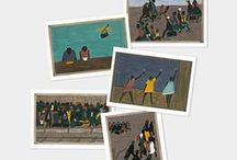 One-Way Ticket: Jacob Lawrence / From the 2015 MoMA Exhibition / by MoMA Design Store