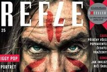 Reflex / Titulní strany časopisu Reflex