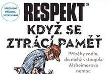 Respekt / Titulní strany časopisu Respekt