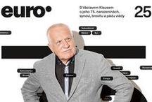 Euro / Titulní strany týdeníku Euro