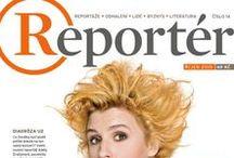 Reportér / Titulní strany magazínu Reportér