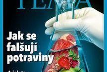 Téma / Titulní strany časopisu Téma