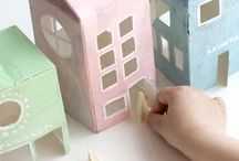 DIY / Great ideas for fun crafts, games, toys, and decor that you can make with your tots!