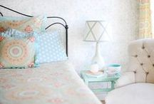 VINTAGE INSPIRED / Design inspiration full of lush fabrics and gorgeous color that never gets old.