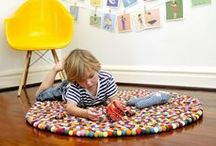 RUGS / Rug ideas that will leave your floors looking good and those little feet nice and warm!
