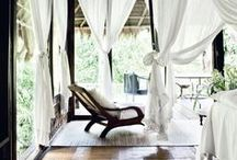 SANCTUARY / Bedroom decor inspiration and ideas, modern, minimalistic and boho design and style.
