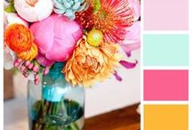 COLOR | INSPIRATION / Color, color and more color! Out with the black and white and in with bold hues and vibrant patterns!