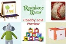 Holiday Gift Guide / Great gift ideas for everyone on your list this holiday season + plus fun gift wrapping ideas! / by Rosenberry Rooms