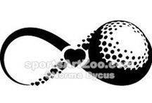 Golf Illustrations & Designs / Golf Illustrations, Clipart and Designs for athletes, coaches and fans.
