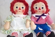 RAGGEDY ANN & ANDY / Raggedy Ann and Andy / by Tracee Stewart