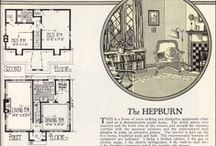 VINTAGE HOUSE PLANS / by Tracee Stewart